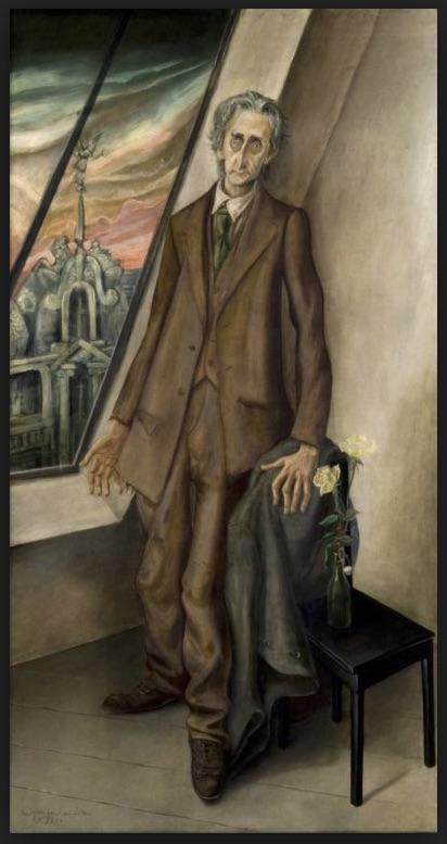 Portrait of Poet Ivar von Lücken, 1926 by Otto Dix