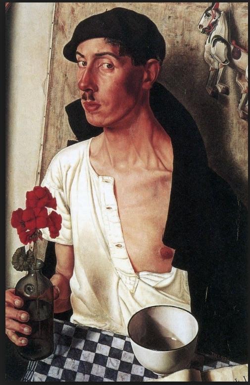 Dick Ket Self Portrait